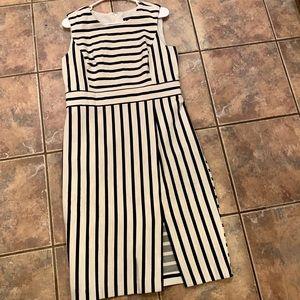 Ann Taylor stripped dress